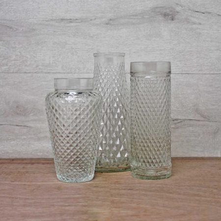 Vintage glazen vazen