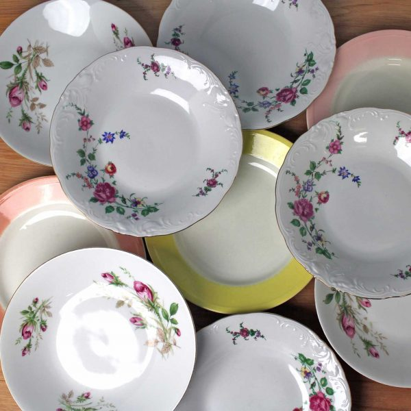 vintage borden set Bavaria Wawel Boch